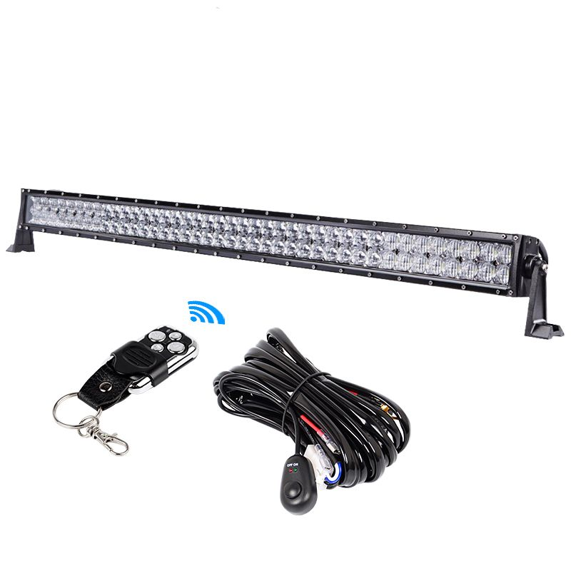 RACBOX 5D 240W 42 inch Offroad LED Work Light Bar Spot Flood Combo Beam For JEEP 4x4 ATV SUV Truck Automobile 12V 24V