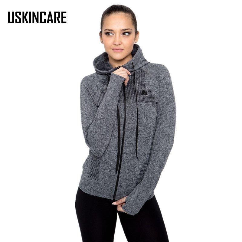 Marke Frauen Sportjacken Lauf Mantel Hoodies Reißverschluss Mantel Weiblichen Jacken Gym Yoga Jacken Frauen