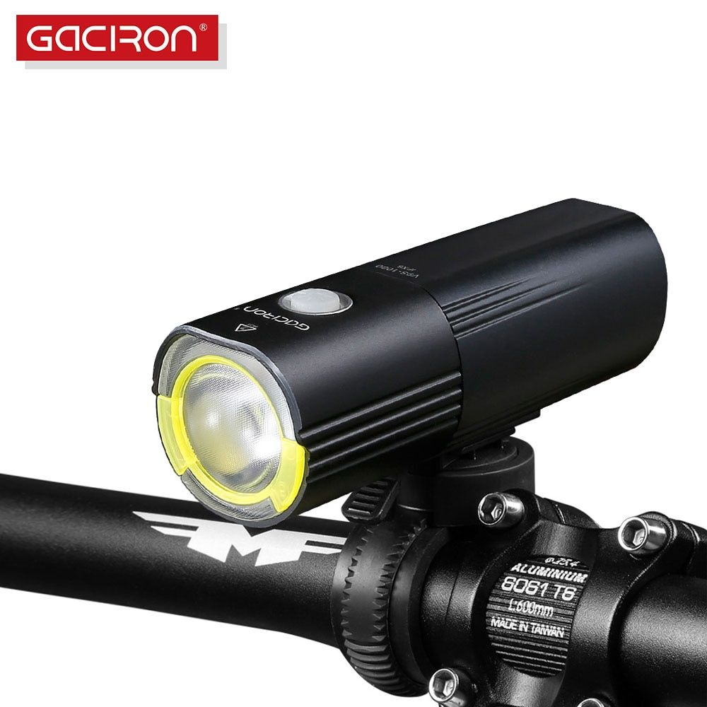 Gaciron V9S-1000 Bicycle Headlight Bike LED Lamp Front Light 1000 Lumens Flashlight LED light Power Bank bicycle accessories