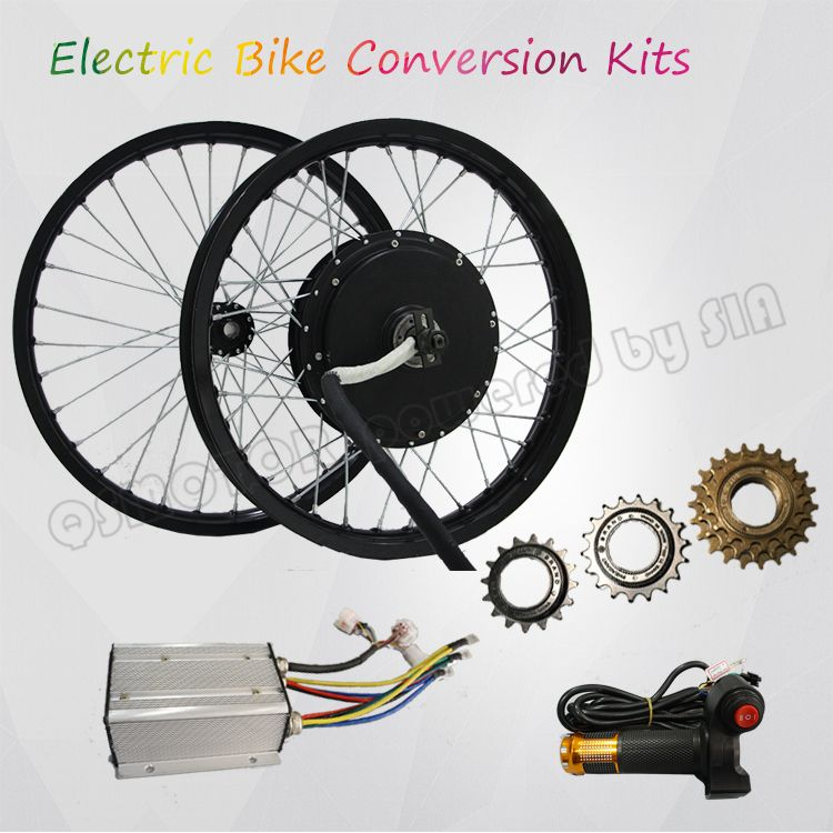Electric bicycle kit 3000W High Powerful Hub Motor Kit 100kph With CE Certification QS Motor Kits