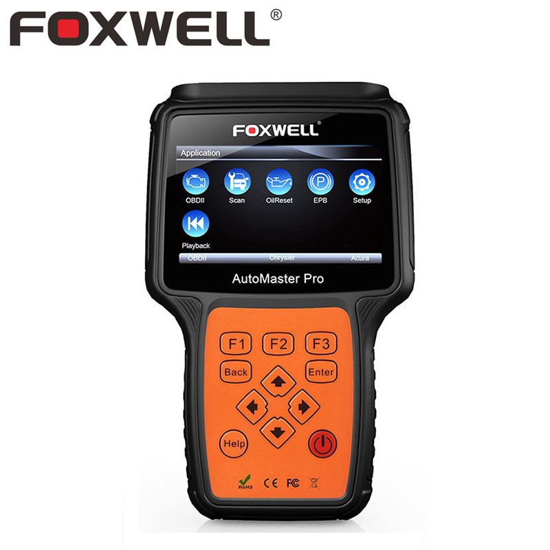 FOXWELL NT624 PRO OBD2 Car Diagnostic Tool Full System Auto ABS Airbag SRS EPB Engine Oil Service Reset Scan Automotive Scanner