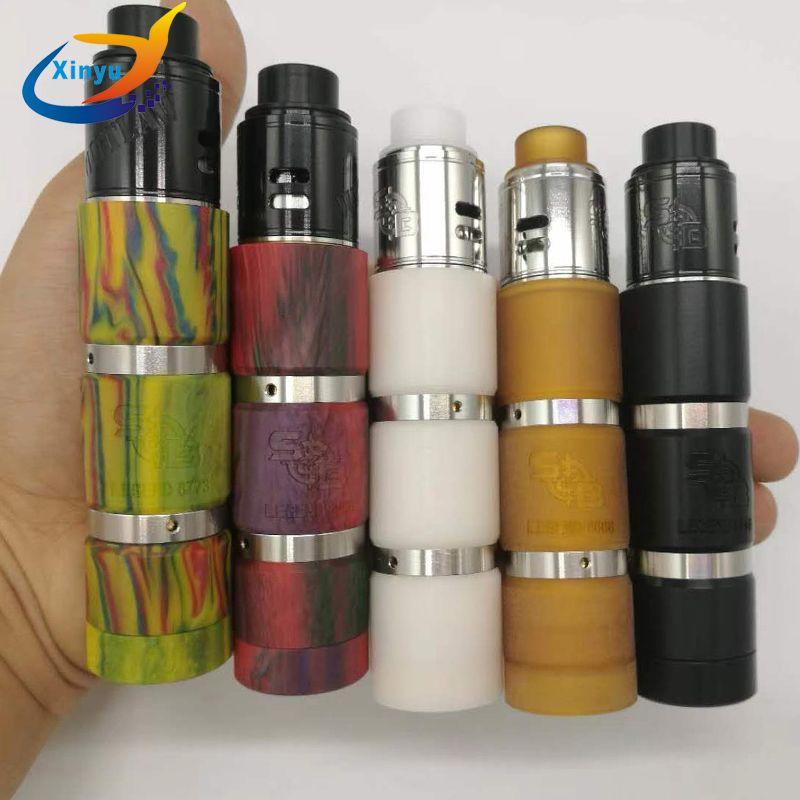 Nouveau arrivé sanglot mod V2 kit FIT 18650 Batterie Mécanique Mod Vapeur Vaporisateur Mod cigarette électronique vaporisateur avec 510 fil rda