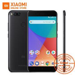 Mondial Version Xiao mi mi A1 4 GB 32 gb mobile téléphone Snapdragon 625 Octa core 12.0MP + 12.0MP double caméra Android Un 5.5 ''1080 p