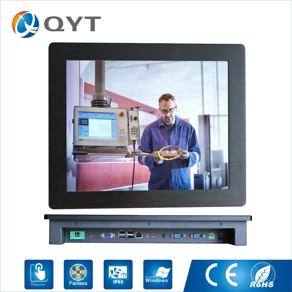 19 zoll 1280x1024 Auflösung 4 gb DDR3 32g SSD Industrie Panel PC mit resistiven touchscreen mit CPU celeron j1900 2,0 ghz