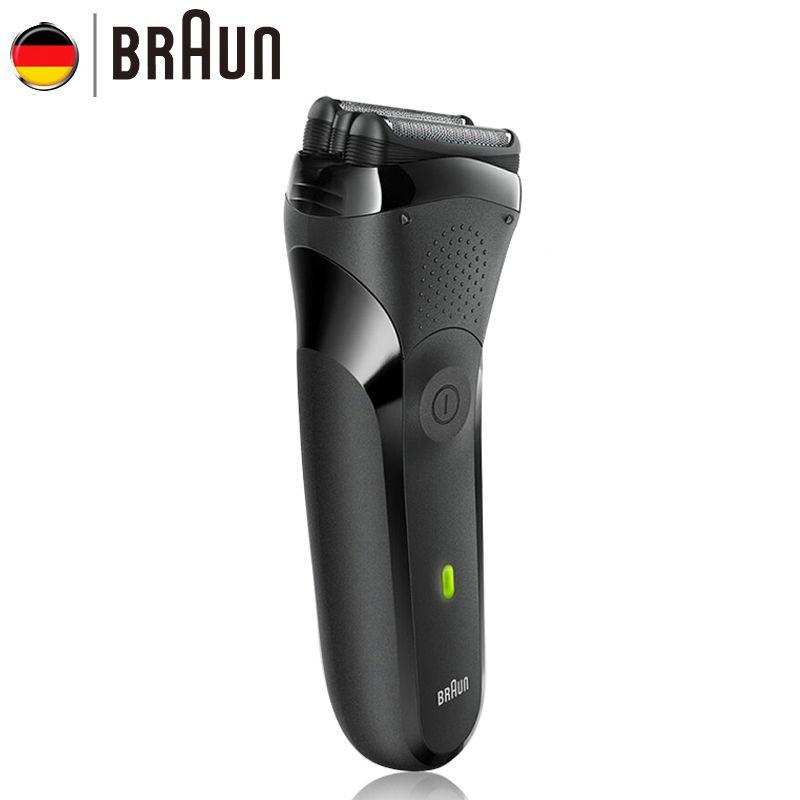 Braun Elektrorasierer Für Männer Körperpflege Rasiermesser Waschbar Schwimmkopf Elektrische Rasiermesser Produkt Sicherheit Rasierer 300 S