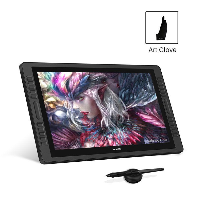 HUION kamvas Pro 22 GT-221 Pro V2 Stift Tablet Monitor Grafiken Zeichnung Pen Display Monitor mit 8192 Ebenen Teig- freies Stift