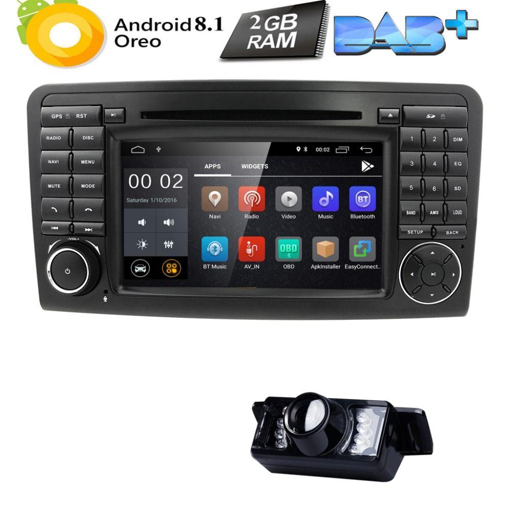 Zwei Din 7 Zoll Auto DVD Player Für Mercedes/Benz/GL ML KLASSE W164 X164 ML350 ML450 ML500 GL320 GL450 Canbus Radio GPS FM iPod Karte