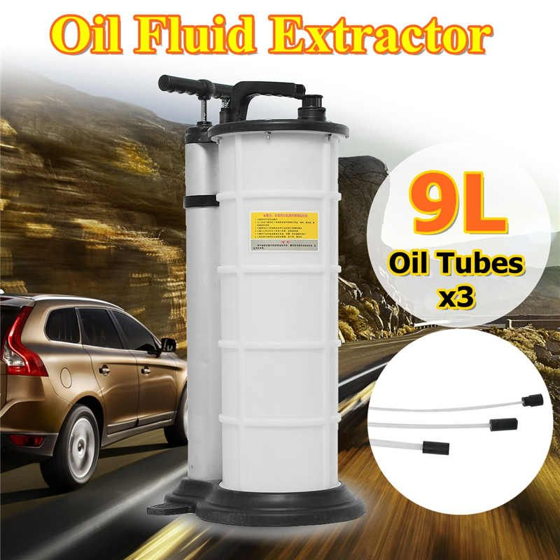 9L AutoCar Brake Oil Fluid Extractor Drained Replacement Repair Tool Manual Oil Pumping Machine Set For Car Motorcycles Engine