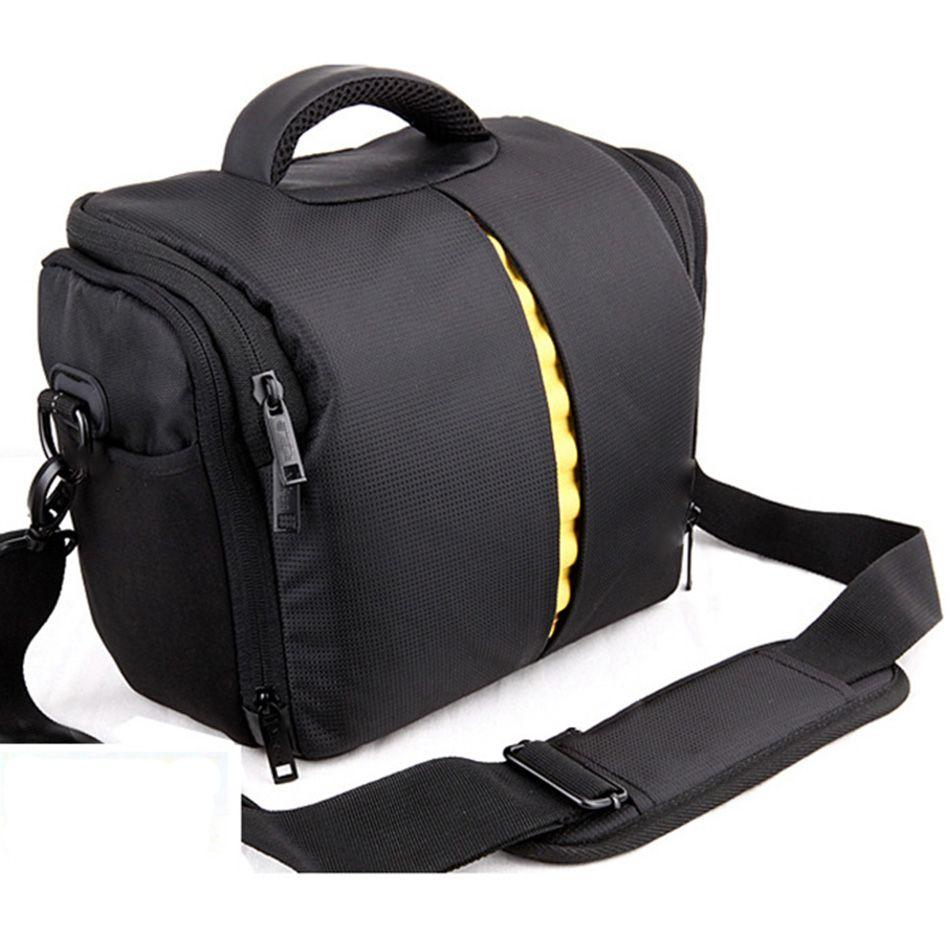 DSLR Waterproof Camera Case for Nikon D90 D750 D3100 D3400 D3000 D3200 D7100 D5100 D5200 D5300 D5500 D7000 D40 D600 Shoulder Bag