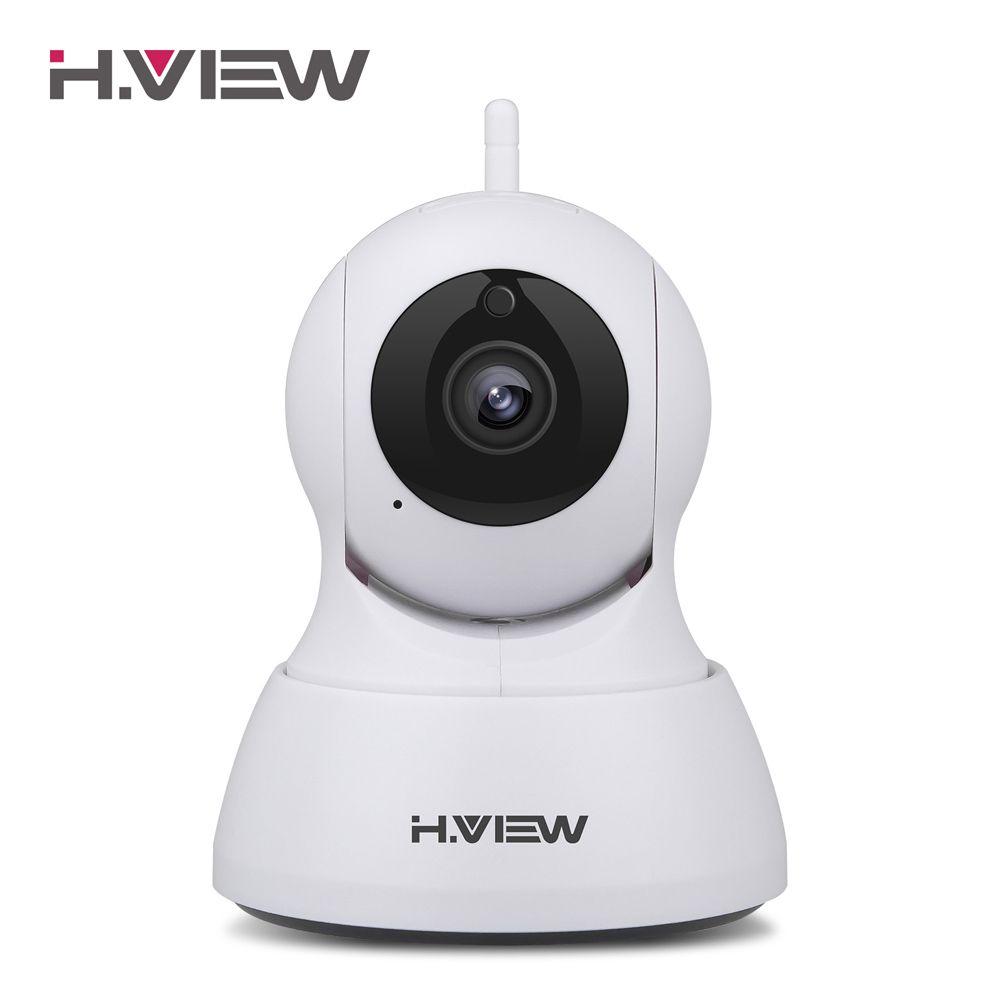 <font><b>H.VIEW</b></font> 720P IP Camera CCTV Wifi Camera 1200TVL Camara IP H.264 Wifi Cameras Wifi Android iPhone OS Access Cameras