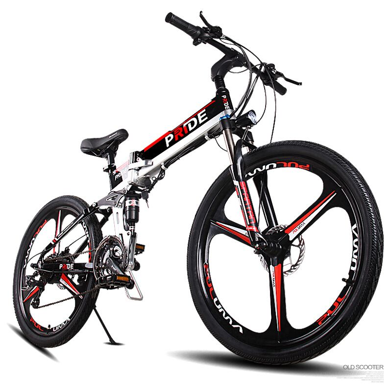 26inch electric mountian bicycle three spokes wheels 48V MTB anti-theft lithium battery 500w high speed motor 21speed ebike