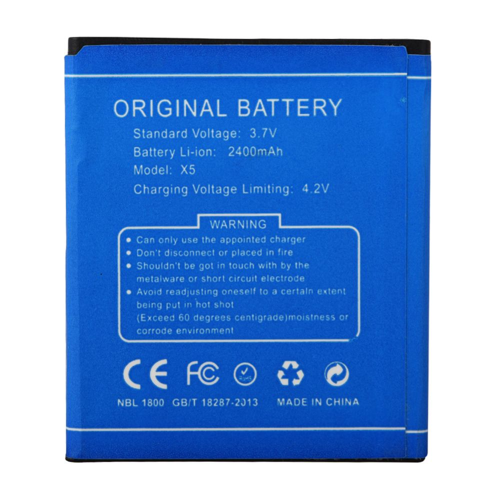 For DOOGEE Mobile Phone 2400mah Replacement Battery For DOOGEE X5 X5 Pro Rechargeable Backup Battery Bateria Spare Batteria