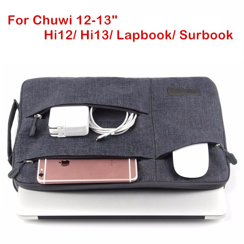 Fashion Sleeve Bag For CHUWI Hi12 Hi13 Surbook 12.3 Tablet PC Laptop Pouch Case For Chu wi HI 12 13 CW02 Lapbook Handbag Cover
