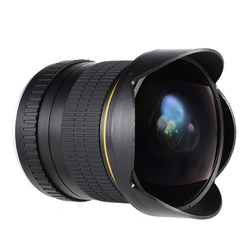 8mm F/3.5 Ultra Wide Angle Fisheye Lens for Canon DSLR Cameras 1200D 760D 750D 700D 750D 600D 70D 60D 5D II III 6D 7D