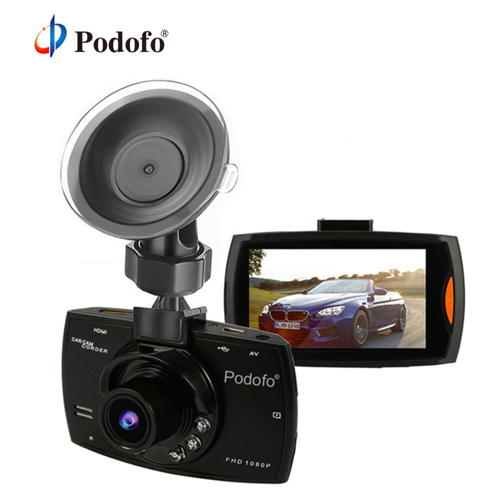 Original Podofo A2 Car DVR Camera G30 Full HD 1080P 140 Degree Dashcam Video Registrars for Cars Night Vision G-Sensor Dash Cam