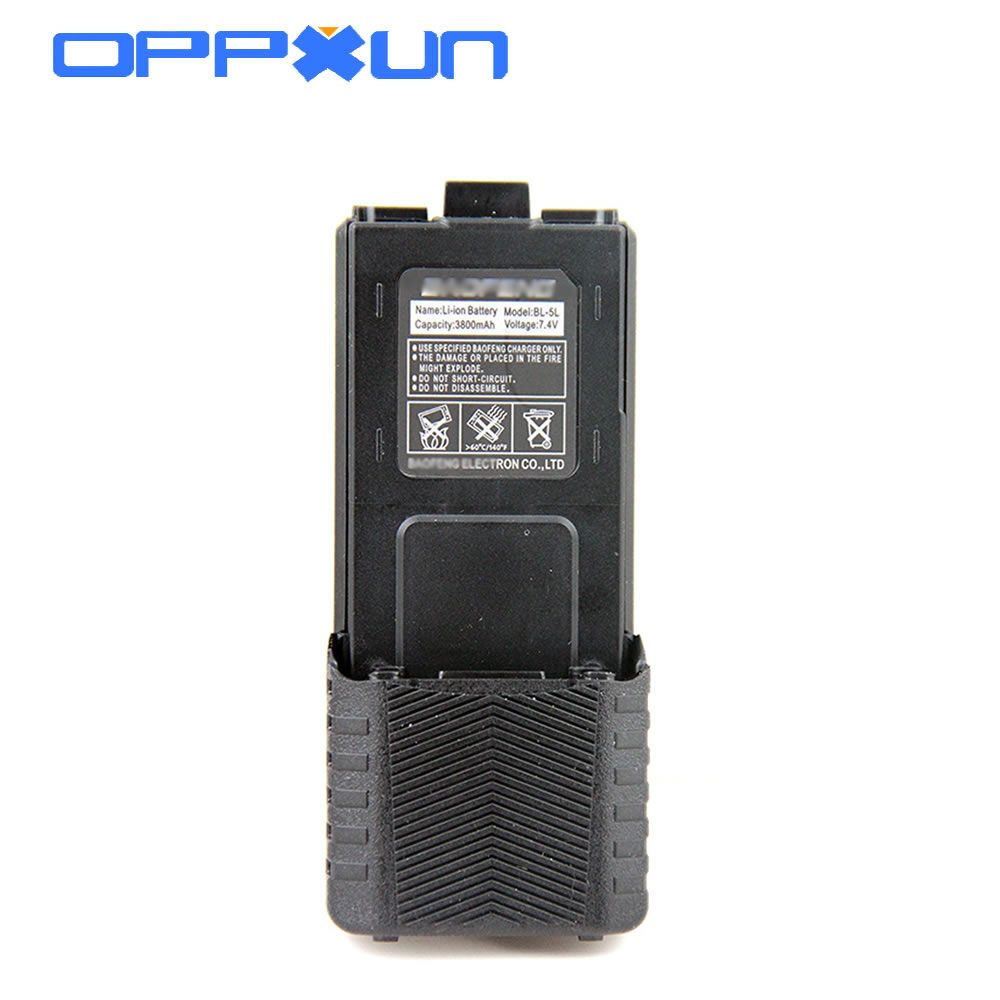 High Capacity Baofeng UV5r Battery 3800mah For Radio Walkie Talkie UV 5R Baofeng UV-5R Accessories Baofeng Battery