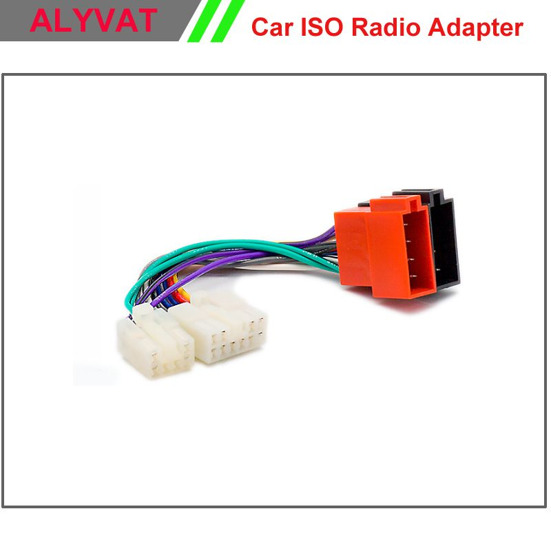 Car ISO Stereo Wiring Harness For Toyota Lexus Daihatsu Adapter Connector Auto Radio Adaptor Lead Loom Plug Wire Cable