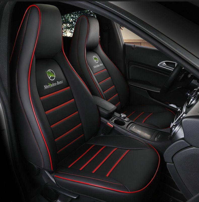 custom Leather car seat cover for auto Mercedes-Benz gla200 gla260 cla200 cla 220 cla260 A 180 A200 auto accessories car styling