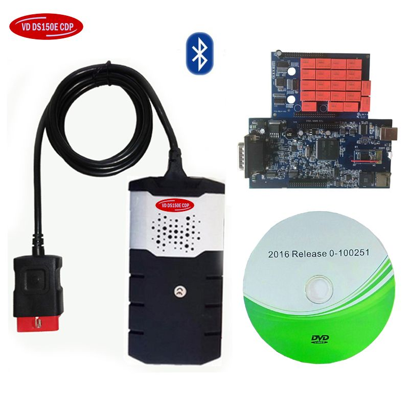 2015R3/2016R0 Adapter vd ds 150e cdp Pro Cars Diagnostic Interface Tool for delphis with bluetooth scan tool.