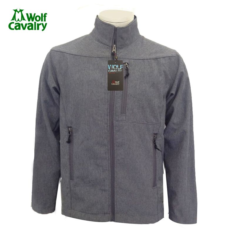 cavalrywolf Winter Fleece Softshell Jacket Outdoor Sport Waterproof Coats Men Hiking Clothing
