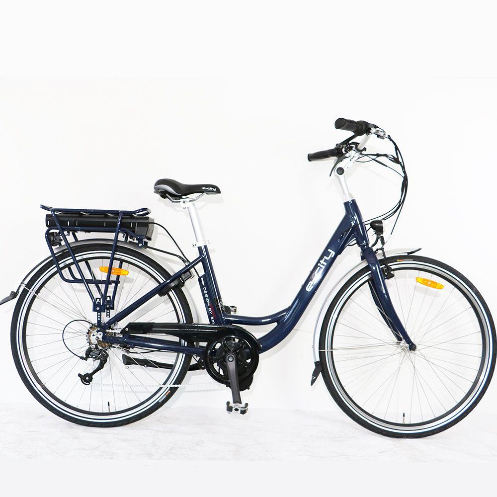 US/CA drop ship Bafang motor road ebike Electric bicycle Aluminum Alloy e-city Bike for woman female