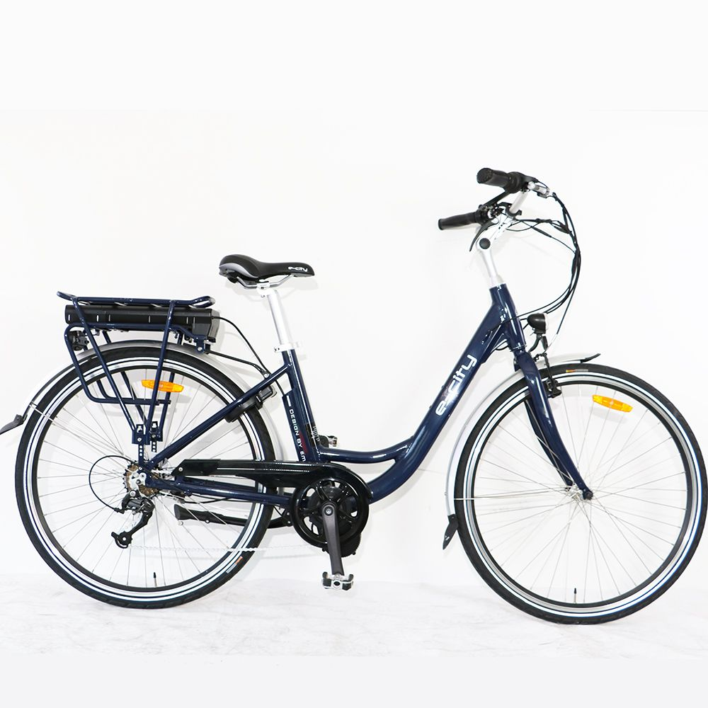 US/CA drop ship Bafang motor road ebike Electric bicycle Aluminum Alloy e-city Bike for woman female