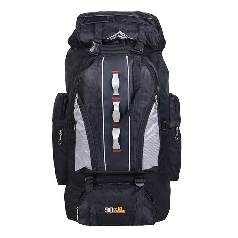 100L Große Kapazität Outdoor Sports Rucksack Männer und Frauen Reisetasche Wandern Camping Klettern Angeln Taschen wasserdichte Rucksäcke