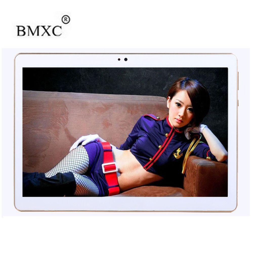 BMXC 10,1 zoll 4G LTE Tabletten PC Octa-core Android 7.0 RAM 4 GB ROM 32 GB Dual SIM Karten 1920*1200 IPS HD GPS 10 zoll Tablet PCs