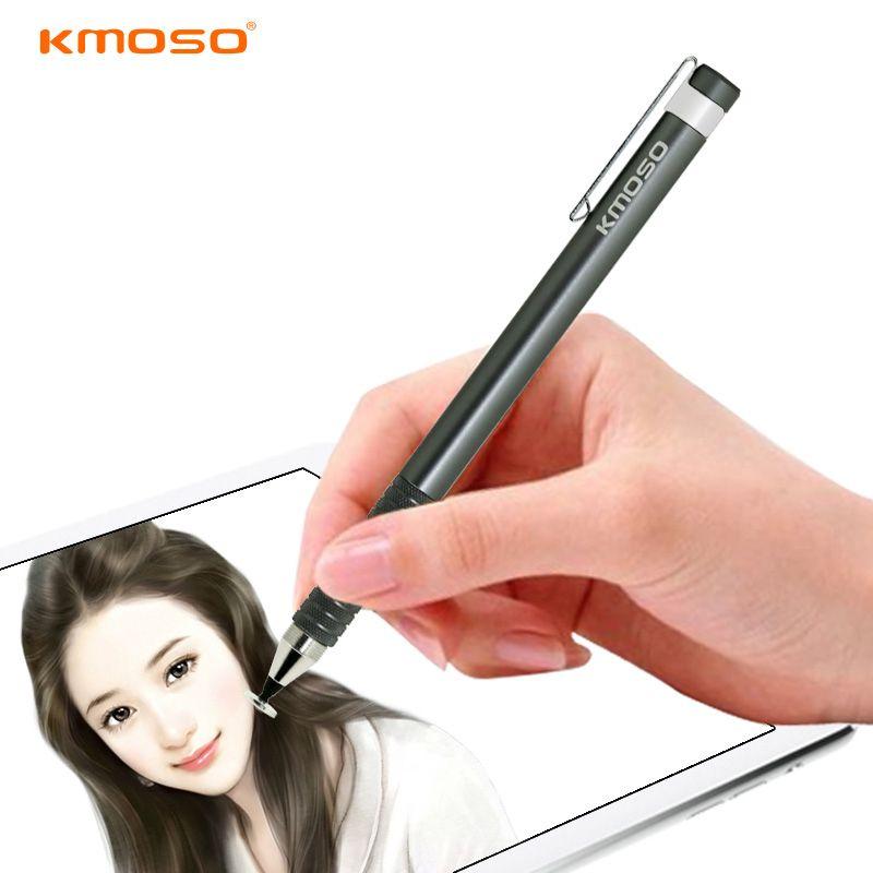 Universal En Alliage D'aluminium Écran Tactile Stylus Capacitif Pen Pour ASUS Tablet pc, métal Crayon Avec Clip Pour Mobile téléphone Portable