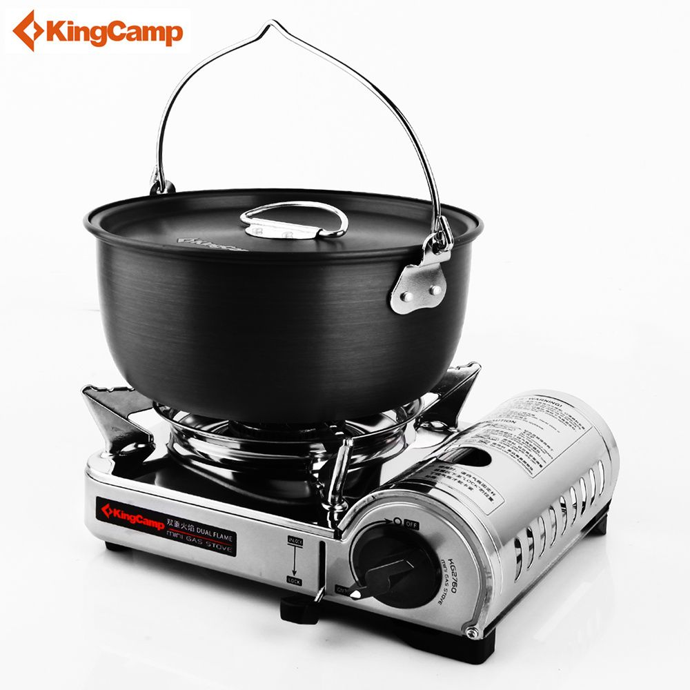 KingCamp Outdoor Stove Portable Gas Stove Camping gas furnace for Hiking Trekking Cooking 5 Years Warranty