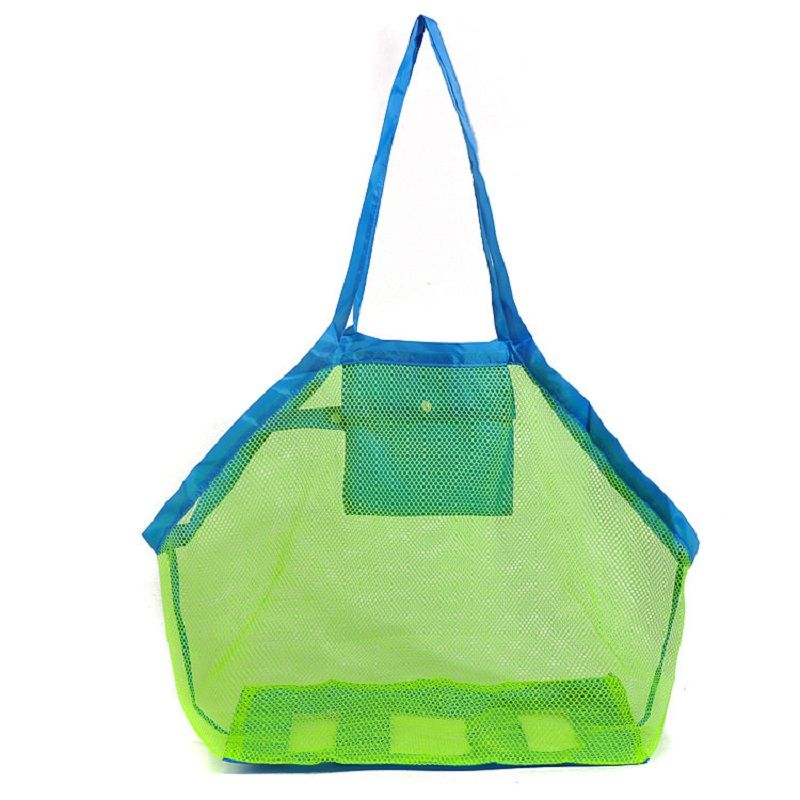 LumiParty Durable Holding Toys Balls Beach Mesh Tote Bag, Beach Necessaries Children Toys Stay Away from Sand