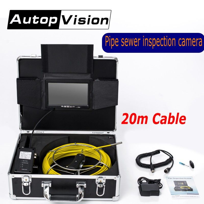AP70 6.5/17/23mm Professional Pipe Drain Sewer Inspection Camera 7