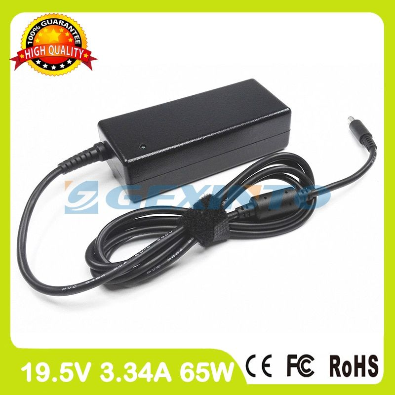 19.5V 3.34A 65W laptop AC adapter charger 43NY4 for Dell Inspiron 15 3551 3552 3555 3558 5551 5552 5555 5558 5559 P47F P51F