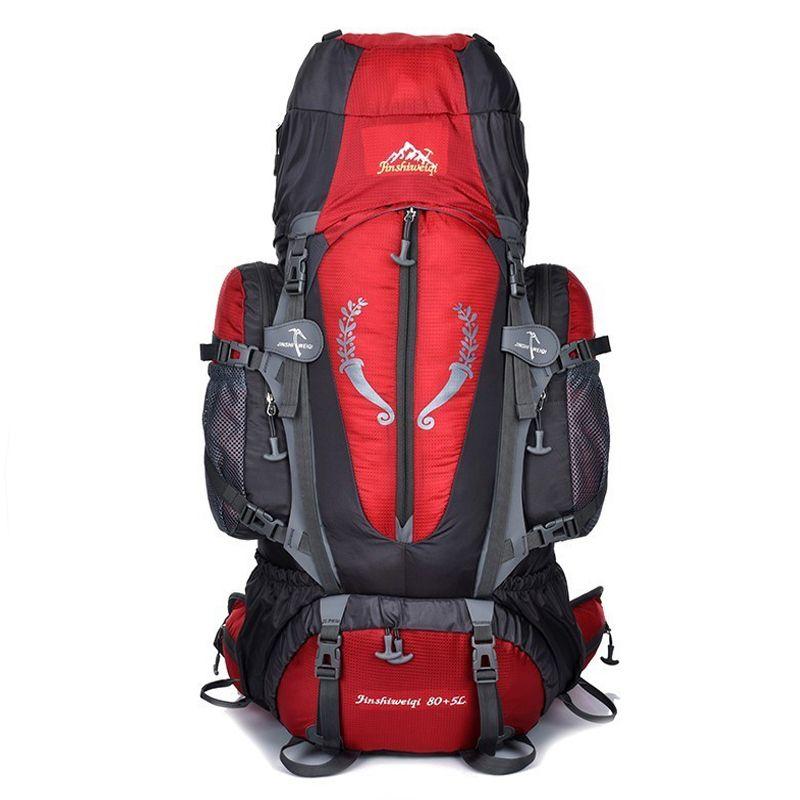 Hot grand sac à dos extérieur 85L unisexe voyage multi-usages escalade sacs à dos randonnée grande capacité sacs à dos camping sac