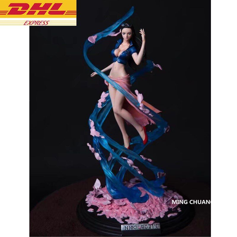 Statue ONE PIECE The straw hat Pirates Nico.Robin Flower-Flower Fruit Miss.Allsunday Bust GK  Action Figure Toy OPP D620