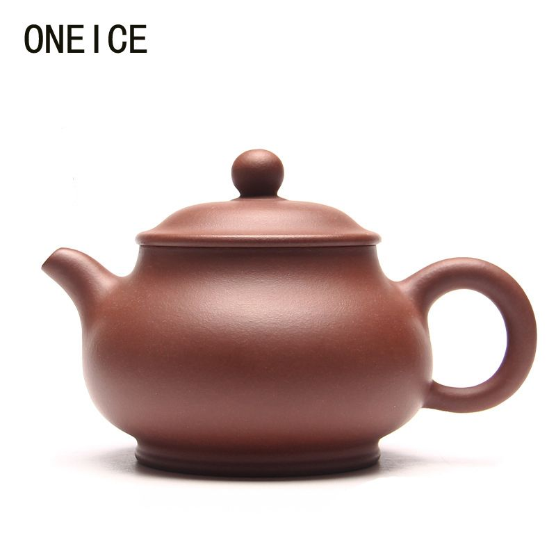 Hand made Genuine teapot Pan Pot Qing Cement Teapot Tea set teapots Author Shao junyao 290ml Chinese Yixing Teaware Teapots