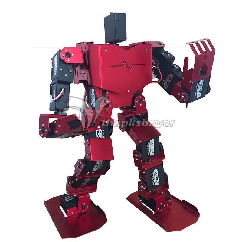 19DOF Humanoiden Roboter-Seele H3.0-19S Contest Dance Roboter Zweibeinigen Roboter Plattform mit Servos für Arduino