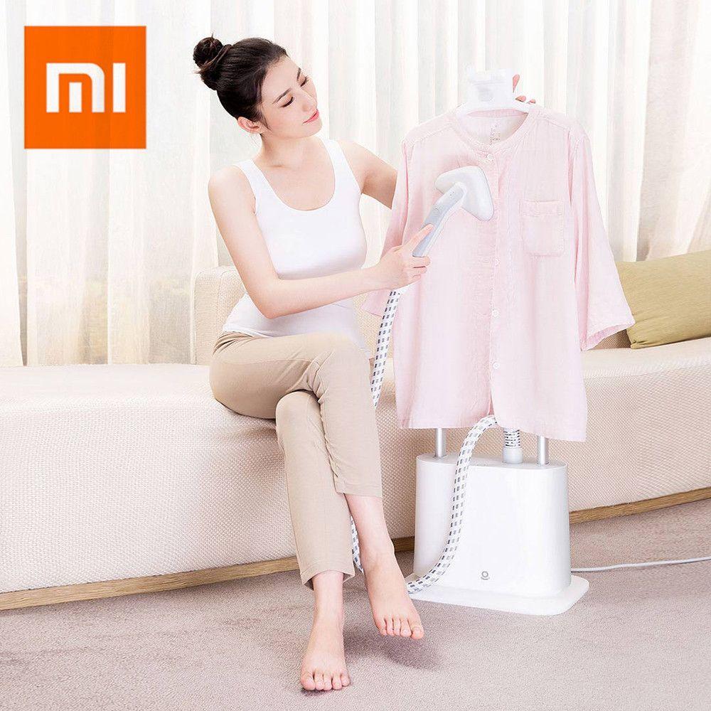 Xiaomi Youpin Doppel Pole Vertikale Garment Steamer Elektrische 1L Kleidung Dampf Eisen Hängenden Bügeln Maschine Haushalts Geräte