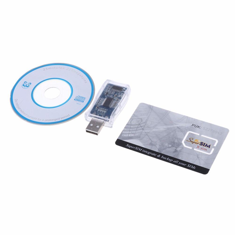 Neue kartenleser USB 16in1 Sim-kartenleser Schriftsteller Copy Cloner Backup-CD hot