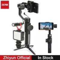 Zhiyun Smooth 4 3 осевой Электронный Стедикам стабилизатор для iPhone X iPhone 8 7plus 6 Plus для GoPro Hero 6 5 экшин Камеров Youtube Видеоблог фильм блогеры ,updated of zhi yun ...
