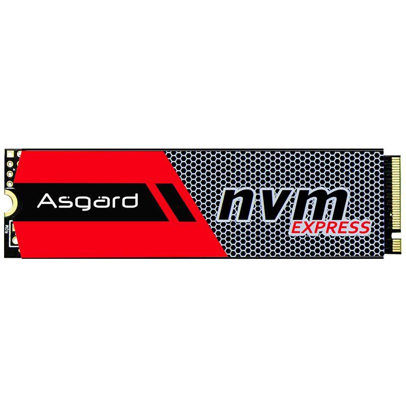 Meilleure vente Asgard 3D NAND 256GB 1 to M.2 NVMe pcie SSD disque dur interne pour ordinateur portable bureau haute performance PCIe NVMe