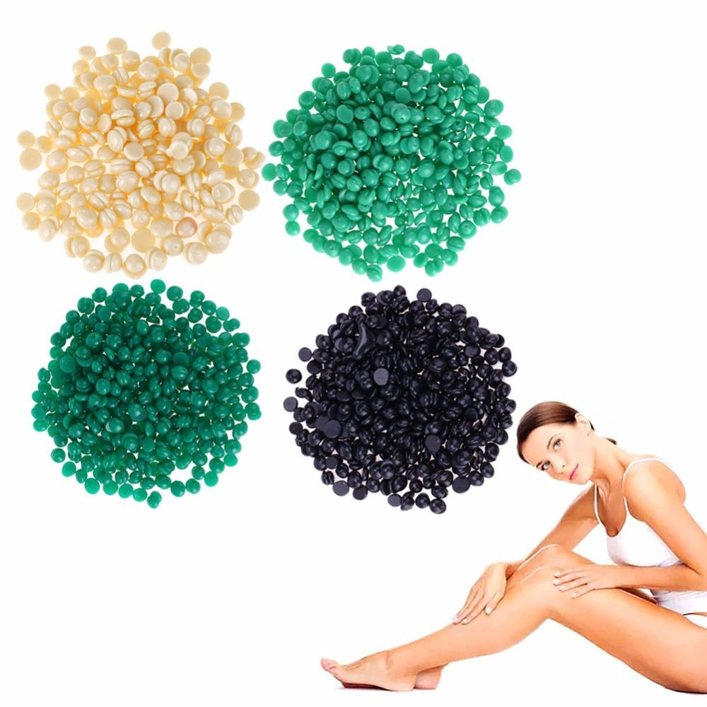 100g New Aloe Asparagus Flavor Hair removal Cream Depilatory Hot Film Hard Wax Pellet Waxing Bikini Hair Removal Beans