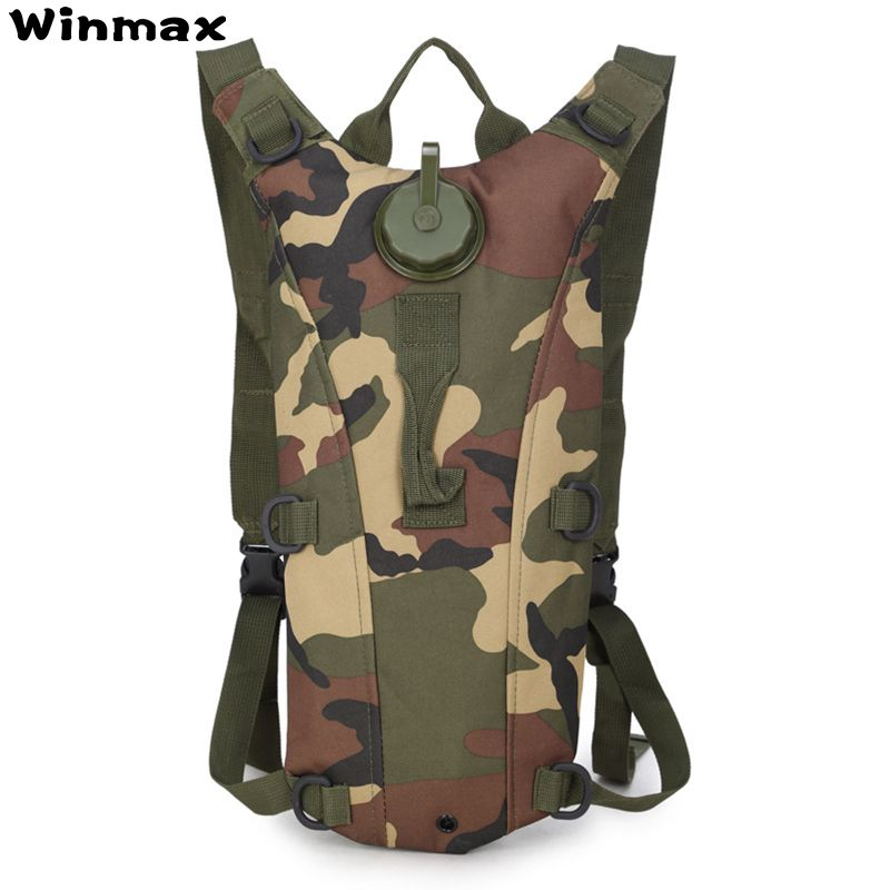 New 2L Water Bag Sport Camelback Tactical Camel bag Backpack Hydration Military Backpack Pouch Rucksack Camping Pack Bicycle Bag