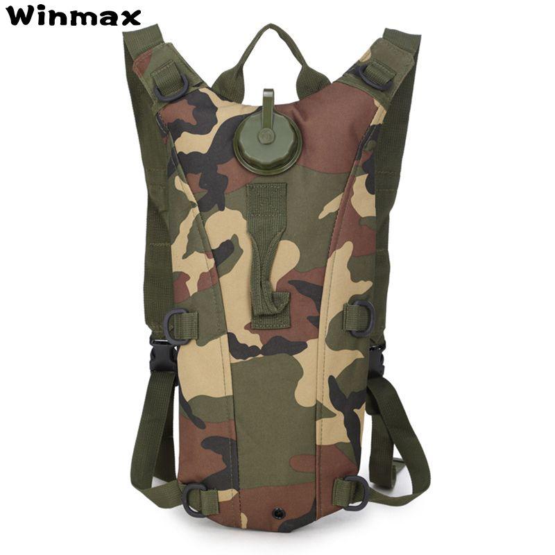Nouveau 2L sac à eau Sport Camelback sac à dos tactique Camel sac à dos hydratation militaire sac à dos sac à dos Camping Pack sac de vélo