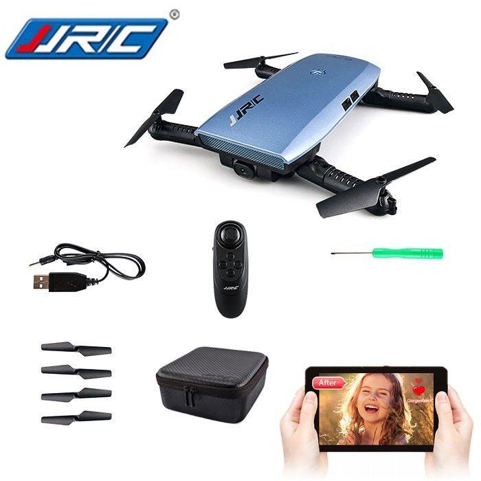 Original JJR/C JJRC H47 ELFIE+ Foldable RC Pocket Selfie Drone RTF WiFi FPV 720P HD / G-sensor Controller / Waypoints Helicopter