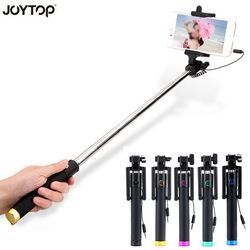 JOYTOP Universal Wired Selfie Stick Monopod for Android/IOS Palo Selfie Groove Camera Para Extendable Folding Selfies Selfiepod