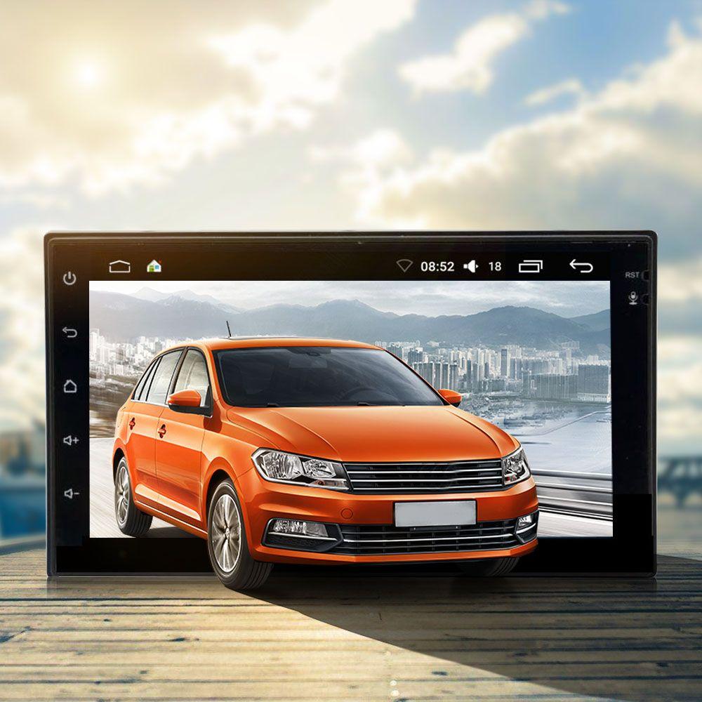 7033 Android 6.0.1 Car Радио мультимедийный плеер 2Din GPS навигации wi-fi Поддержка OBD dab и RDS Радио Функция сабвуфер Выход