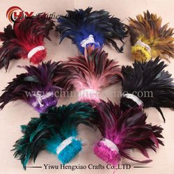 Vente 100 pcs/lot pas cher plume de faisan, 5-8inch13-20cm, naturel couleur coq plumes DIY poulet plume bijoux plume