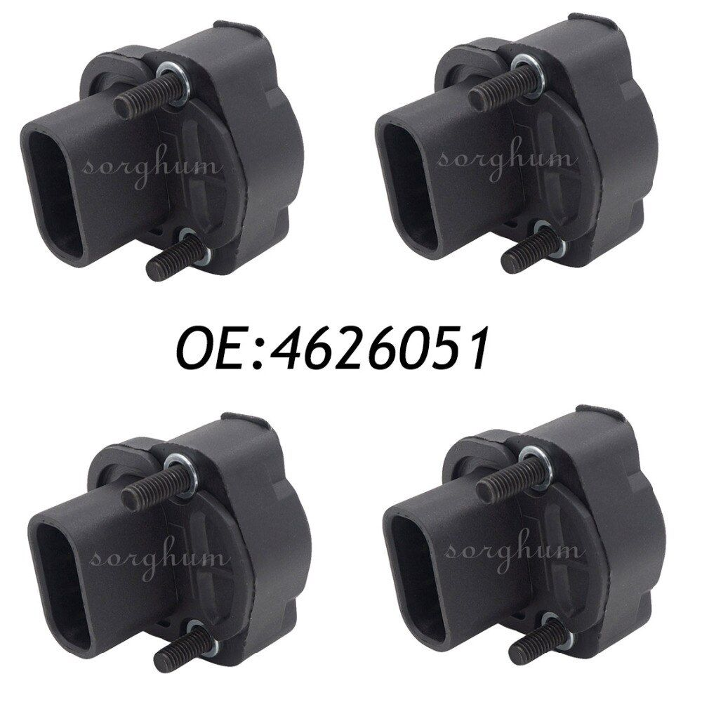 4PCS 4626051 Throttle Position Sensor TPS Fits Jeep Cherokee Chrysler Dodge Plymouth 5234903,5234 903,5234904,4637072,4761871