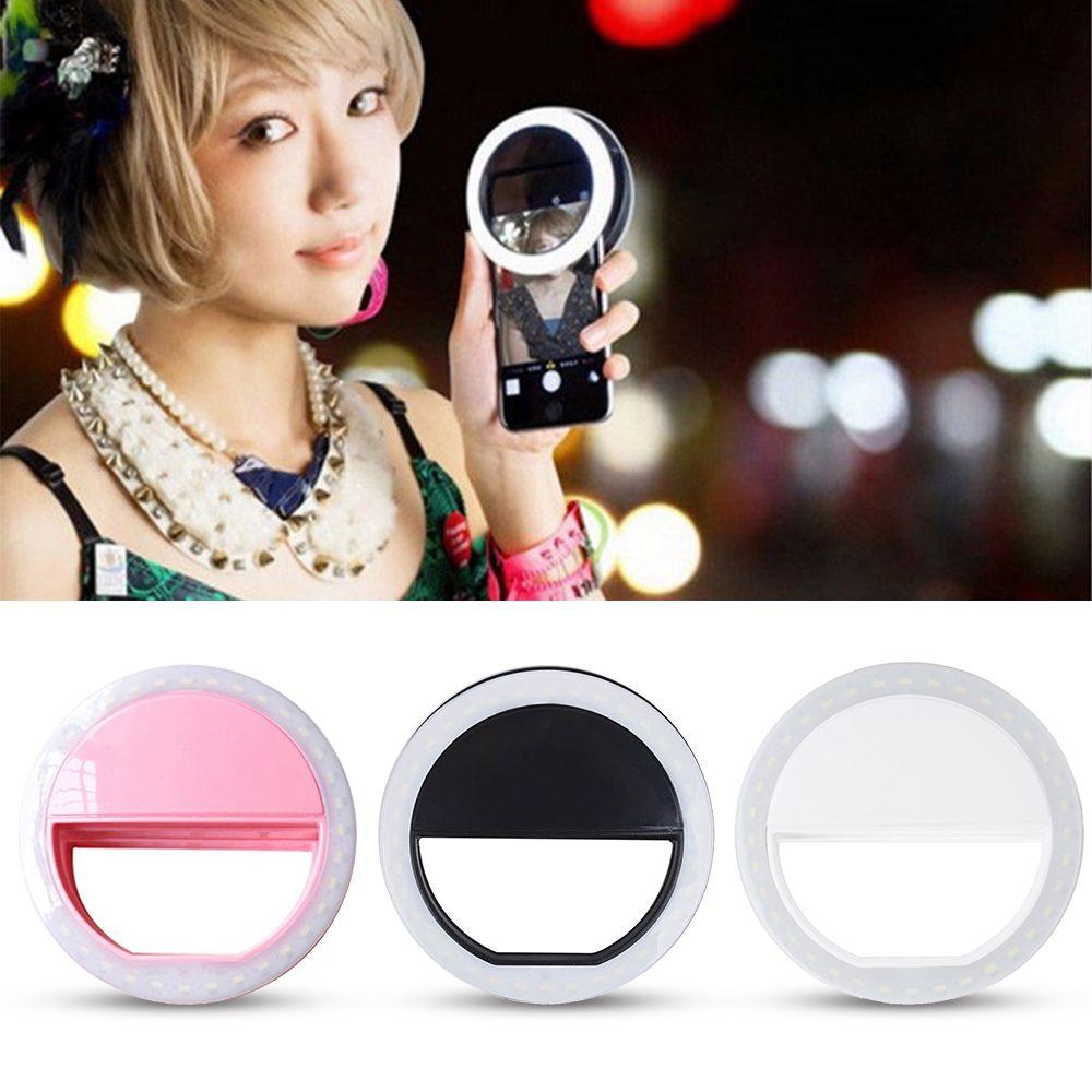 Практичный и Портативный Selfie Flash LED Телефон Камера кольцо света для Apple IPhone Samsung HTC